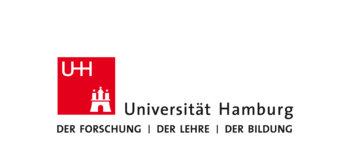 Logo of the University of Hamburg.