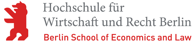Logo of the Berlin School of Economics and Law.