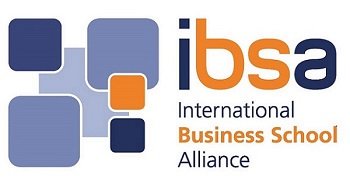 Logo of the International Business School Alliance.